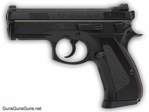 CZ 75 Compact SDP left side