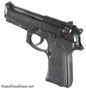 Beretta 92 Compact Rail black left side photo