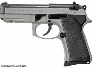 Beretta 92 Compact Rail left side
