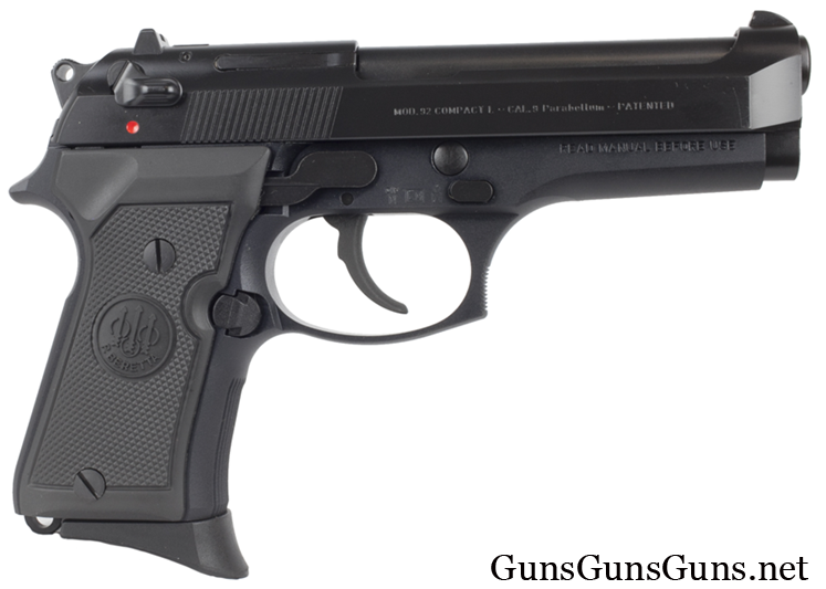 Beretta 92 Compact right side photo