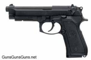 Beretta M9A1 left side photo