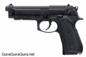 Beretta M9A1 left side photo