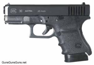 Glock 30SF left side