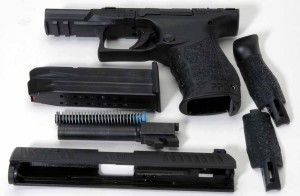 The PPQ M2 disassembled.