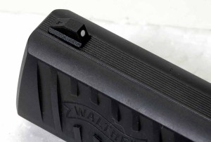Walther PPQ front sight photo