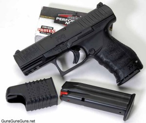 The author's PPQ M2 from the left.