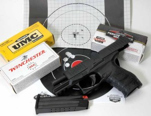 Walt Rauch target results with Walther PPQ M2 photo