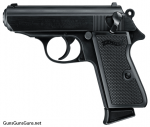 Walther PPKS 22 black left side