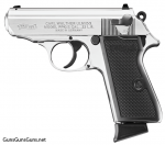 Walther PPKS 22 left side nickel