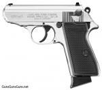 Walther PPKS 22 left side nickel