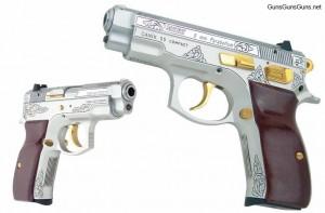 Canik55 C-100 engraved