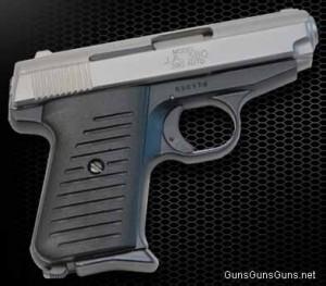 Jimenez Arms JA 380 right twotone