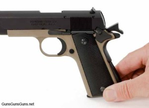 The 1911-22 Compact Composite from the left.
