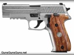 SIG Sauer P226 Engraved Stainless left side