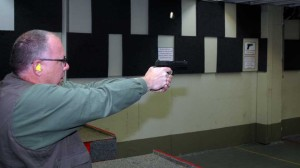 Dr. Mulligan (the author's friend) fires the P320.