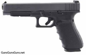 The Glock 41 Gen4 from the left.