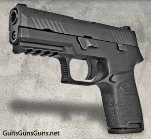 The P320 Carry from the left.