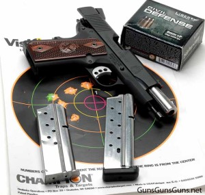 Springfield Armory Range Officer Compact target results photo