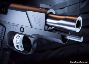 The T4's bull barrel.