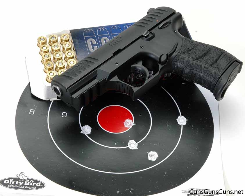 Walther CCP target results photo