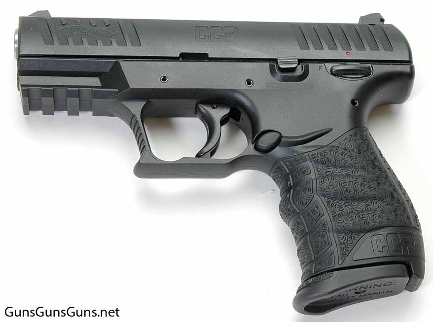 Walther CCP left side photo