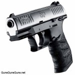 Walther CCP stainless left front