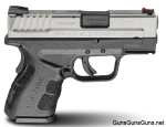 Springfield Armory XD Mod2 SubCompact right side duotone