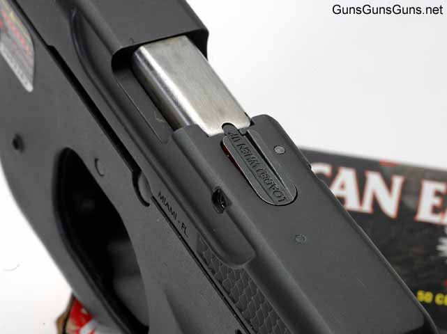 Taurus Curve loaded chamber indicator front sight photo