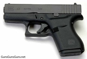 Glock 43 left side photo