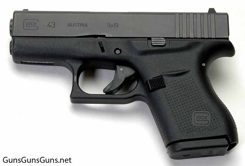 Glock 43 left side photo