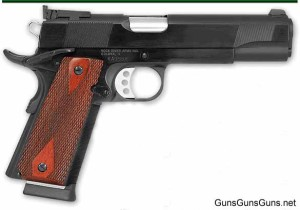 The 1911-A1 Basic Limited from the right.