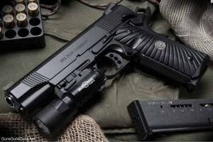 The CQB Light-Rail Lightweight from the left.