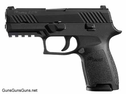 SIG Sauer P320 Compact left side black photo