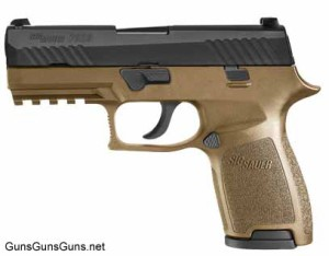 SIG Sauer P320 Compact left side flat dark earth photo