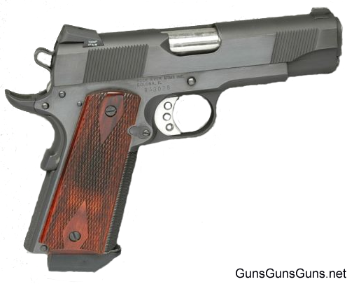 Rock River Arms 1911 A1 Carry right side