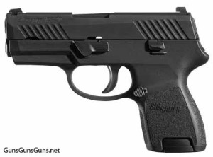 SIG Sauer P320 Subcompact left side photo