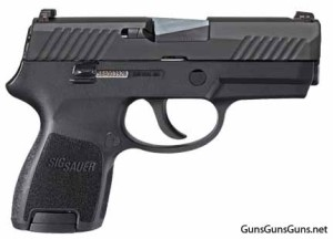 SIG Sauer P320 Subcompact right side photo