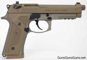 Beretta M9A3 right side flat grips photo