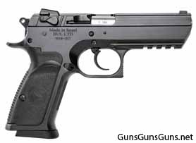 Magnum Research Baby Desert Eagle III steel full size right side photo