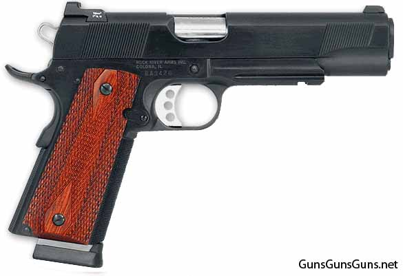 Rock River Arms 1911A1 Tactictal right side photo