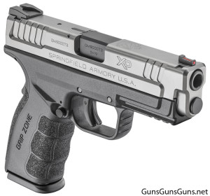 Springfield Armory XD Mod2 Service 4 stainless right side photo