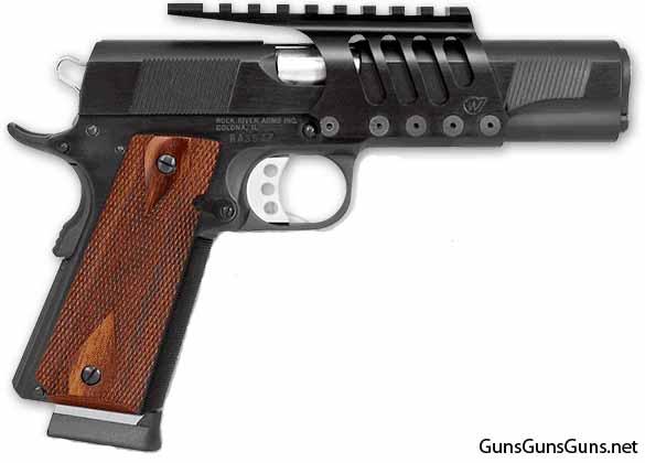 Rock River Arms Bullseye Wadcutter frame mount photo
