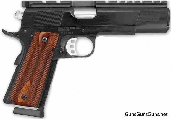 Rock River Arms Bullseye Wadcutter slide mount photo