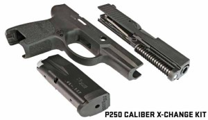 SIG SAuer P250-22 xchange kit right side photo