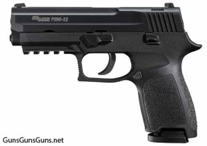 SIG Sauer P250-22 left side photo