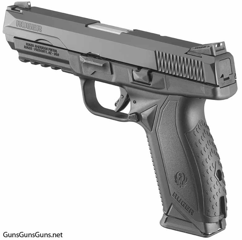 Ruger American Pistol left rear photo