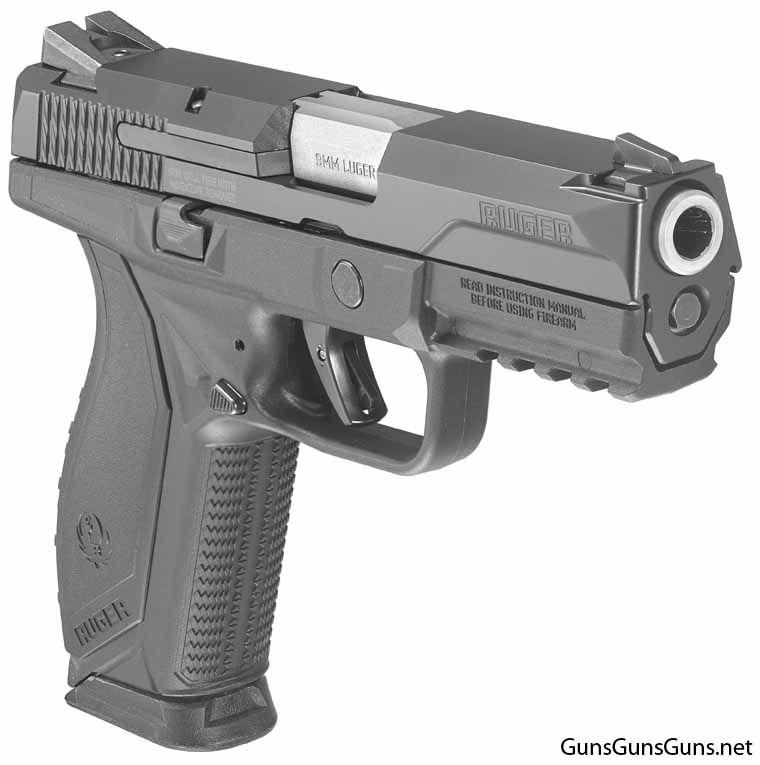 Ruger American Pistol right front