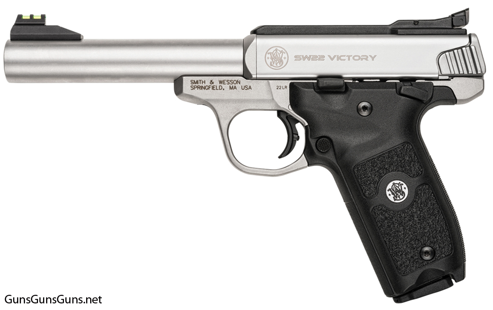 Smith Wesson SW22 Victory left side photo