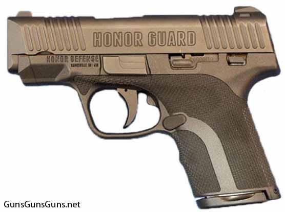 Honor Defense Honor Guard left side