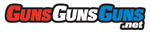 GunsGunsGuns logo graphic